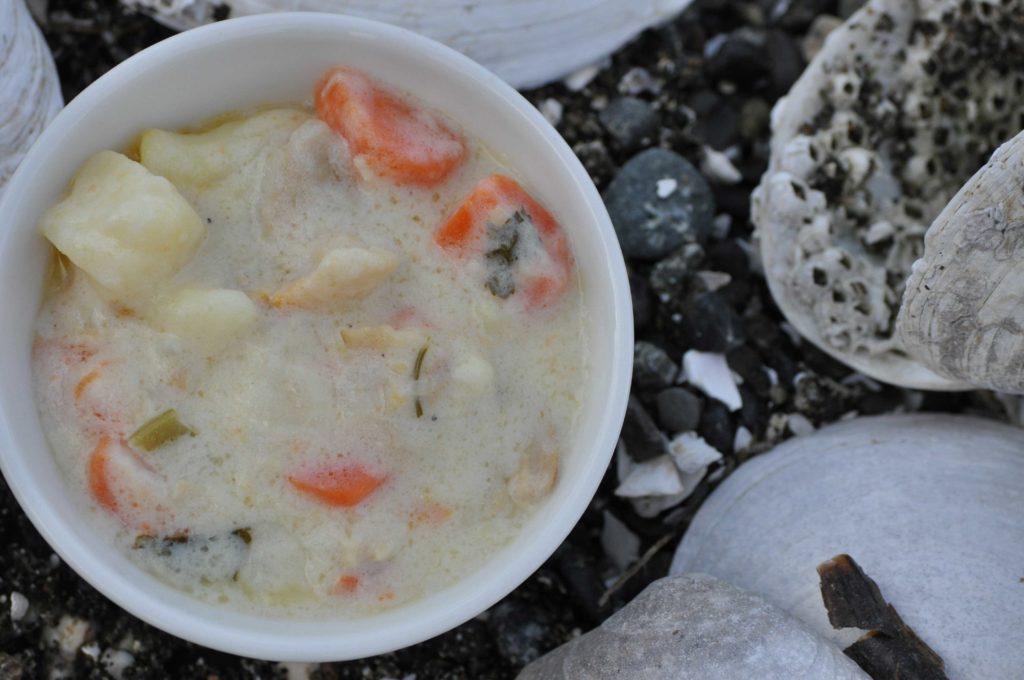 whidbey island clam chowder