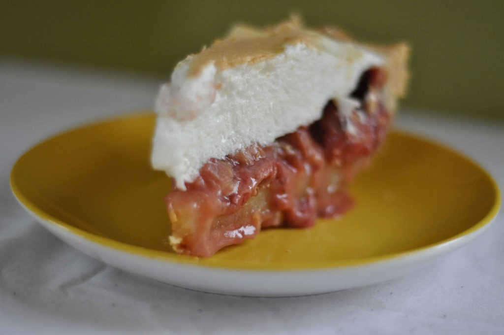 darrington rhubarb cream pie