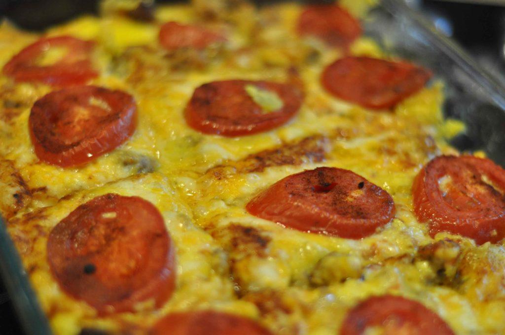 fiesta brunch egg casserole