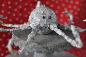 papier mache octopus
