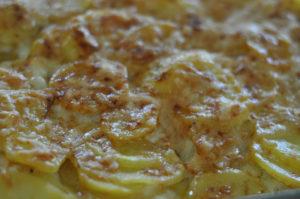 Parmesan- Scalloped Potato Gratin