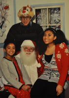 Wilson Children Santa Photo 2012