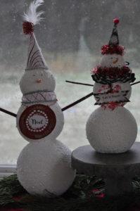 Our snow men