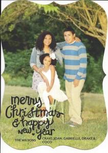 Wilson Christmas Card 2013