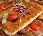 tomato pesto sandwich